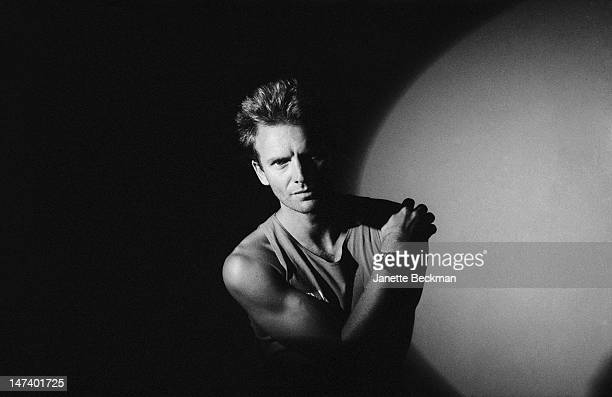 English singer songwriter musician and actor Sting UK 1989