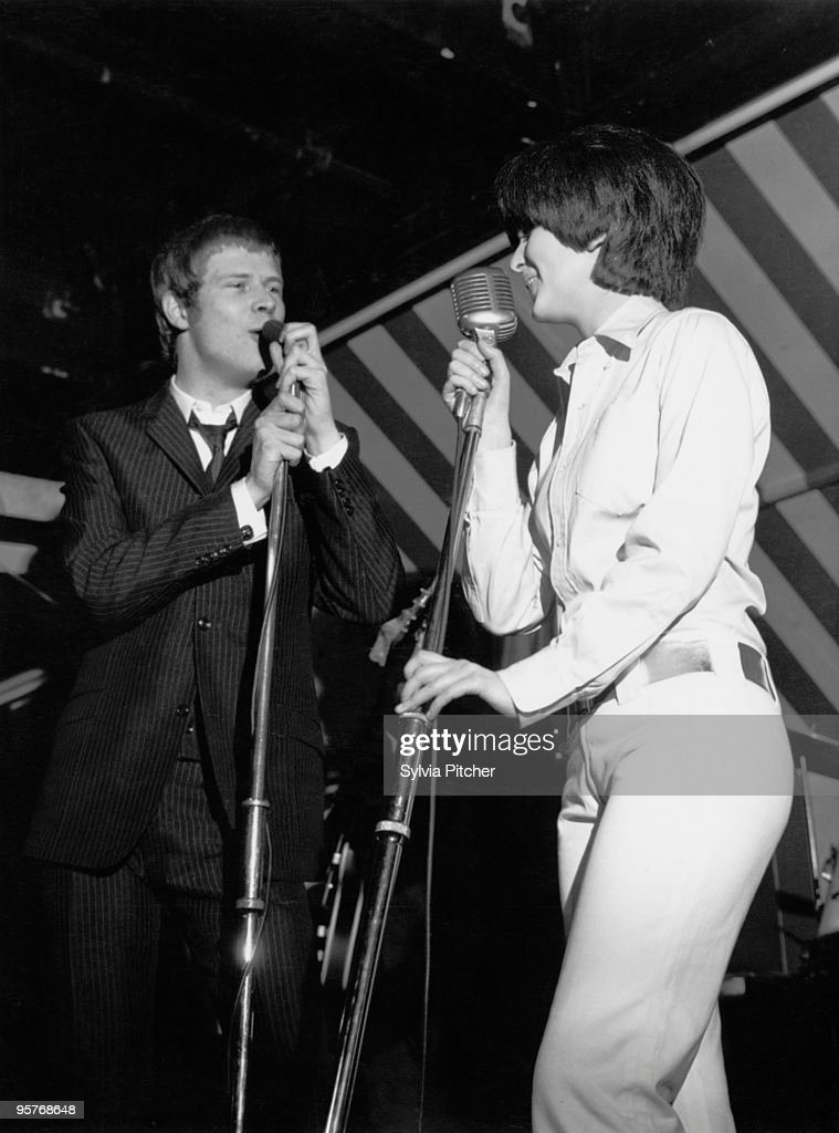 English singers Long John Baldry and Julie Driscoll performing with Steampacket at the Marquee Club London 1965