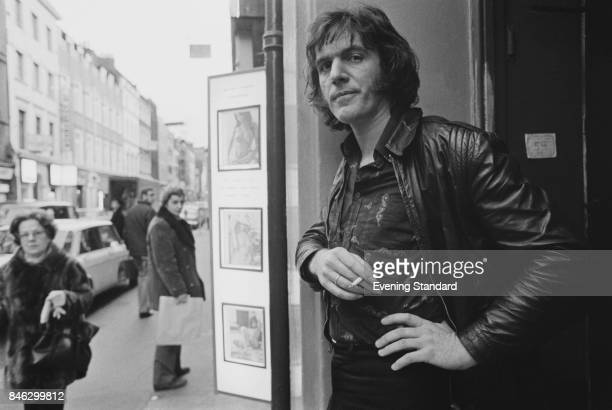 English singersongwriter and acoustic guitar player Ralph McTell London UK 3rd January 1975