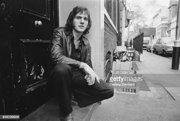 English singersongwriter and acoustic guitarist Ralph McTell London UK 3rd January 1975