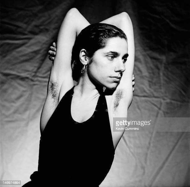 English singersongwriter and guitarist PJ Harvey 23rd March 1992