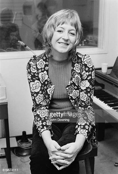 English singersongwriter and keyboardist Christine McVie 16th September 1969