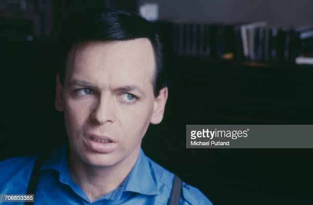 English singersongwriter and musician Gary Numan pictured at home in England 1988