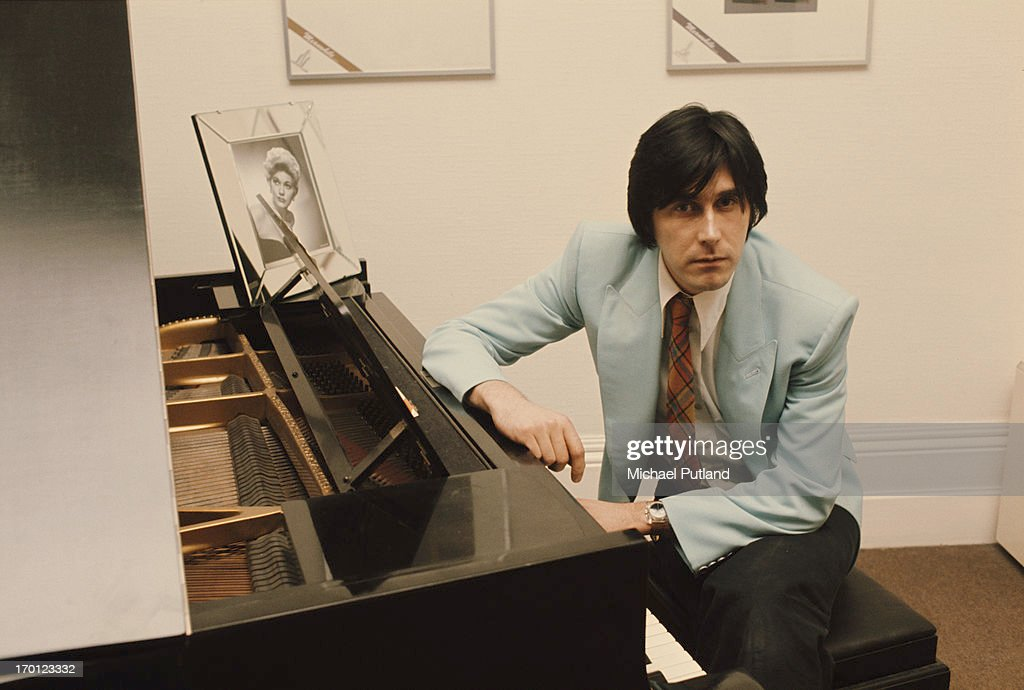 English singer-songwriter Bryan Ferry of Roxy Music, at his home in London, 10th January 1974.