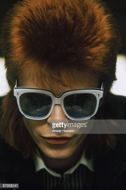 English singersongwriter David Bowie circa 1974