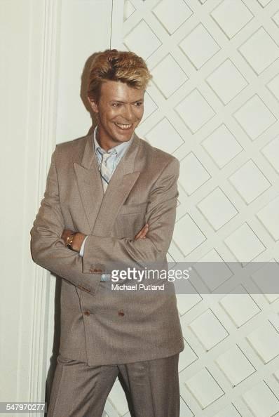 English singersongwriter David Bowie London 1983