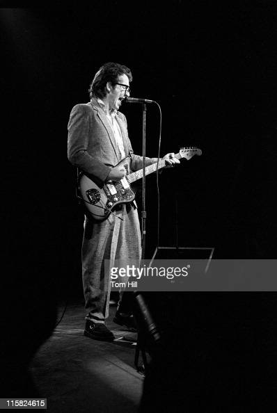 Elvis Costello during Elvis Costello in Concert at the Agora Ballroom in Atlanta March 3 1979 at Agora Ballroom in Atlanta Georgia United States