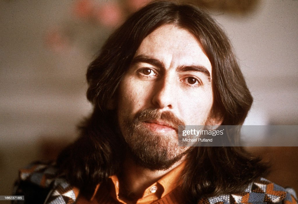 English singer-songwriter, guitarist and former Beatle, <a gi-track='captionPersonalityLinkClicked' href=/galleries/search?phrase=George+Harrison&family=editorial&specificpeople=90945 ng-click='$event.stopPropagation()'>George Harrison</a> (1943 - 2001), Cannes, France, 30th January 1976. Harrison is in Cannes for the Midem music industry trade fair.