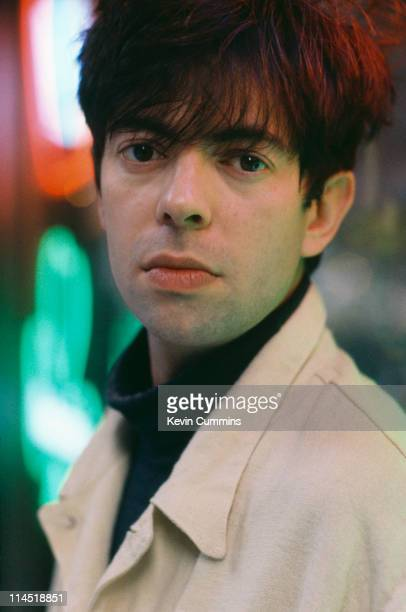 English singersongwriter Ian McCulloch of Echo The Bunnymen and Electrafixion circa 1995