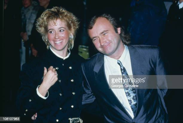 English singersongwriter Phil Collins at the premiere of 'The Mosquito Coast' directed by Peter Weir 5th February 1987