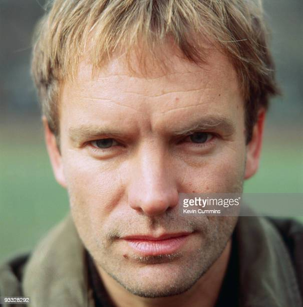 English singersongwriter Sting in Central Park New York City on February 25 1991