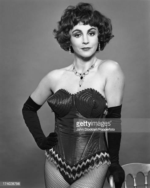 English soprano singer Lesley Garrett 1992