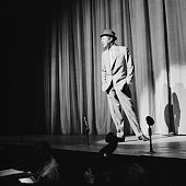 English stage and screen actor Rex Harrison on stage during the 'Night of 100 Stars' show 24th July 1958