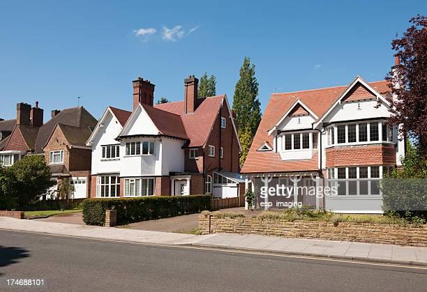 Inglés suburbana de casas