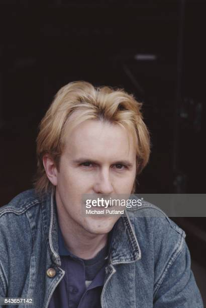 English synth pop singersongwriter and keyboard player Howard Jones UK May 1989