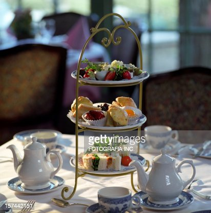english tea time stock photo getty images. Black Bedroom Furniture Sets. Home Design Ideas