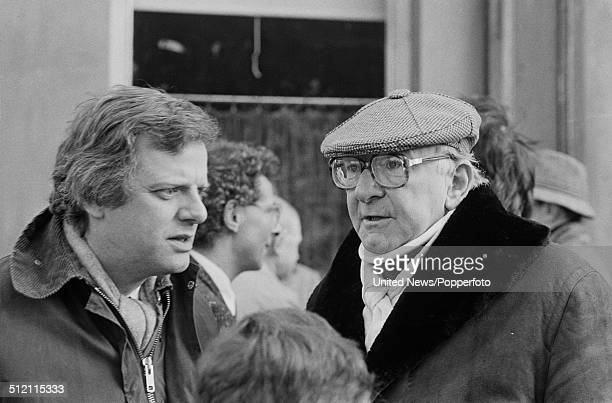 English television executive and controller of BBC1 Michael Grade and Managing Director of BBC Television Bill Cotton pictured together during a BBC...