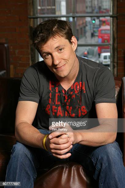 English television presenter and journalist Ben Shephard London UK circa 2005