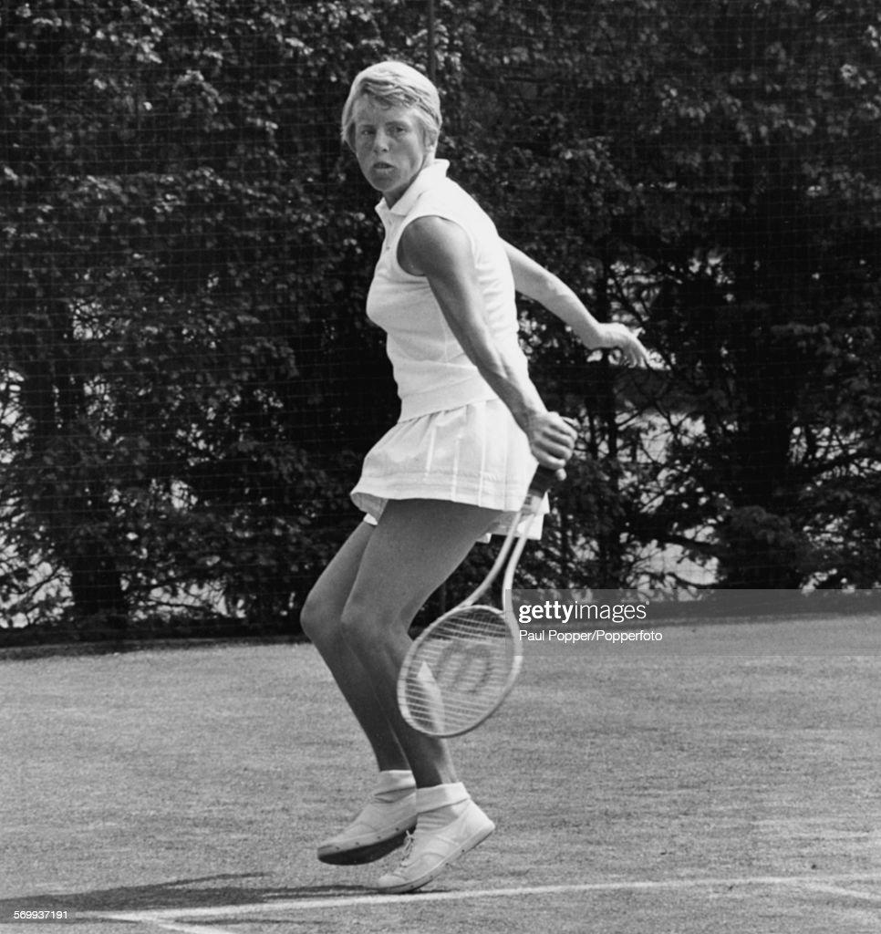 Ann Jones At Wimbledon