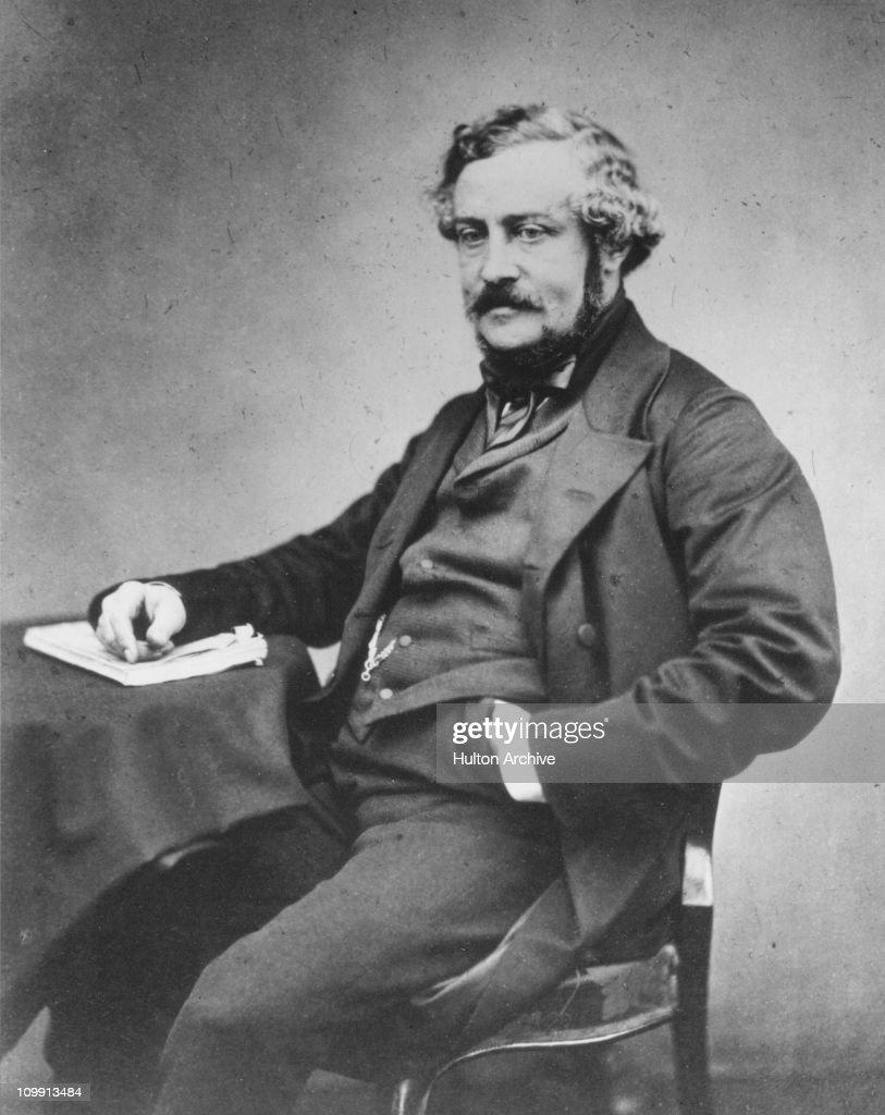 English writer and inventor Martin Farquhar Tupper, F.R.S. (1810 - 1889), circa 1880.