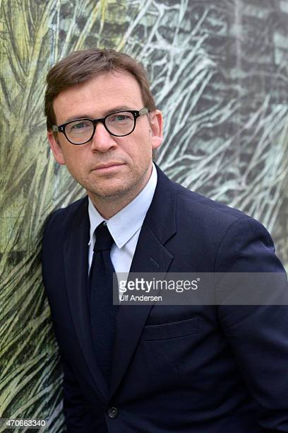 PARIS FRANCE APRIL 17 English writer David Nicholls poses during a portrait session held on April 17 2015 in Paris France
