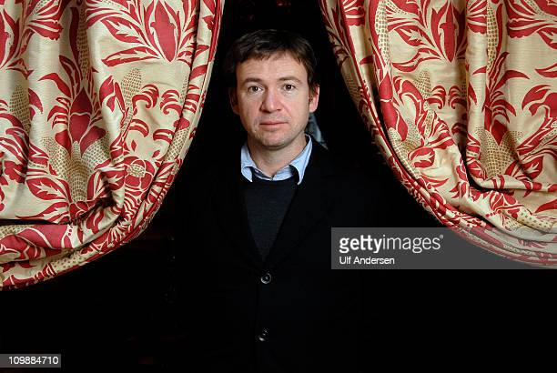 PARIS FRANCE FEBRUARY 6 English writer David Nicholls poses during portrait session held on February 6 2011 in Paris France