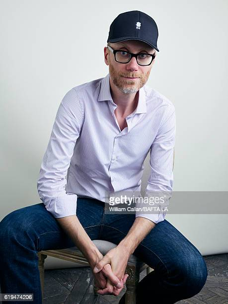 English writer director radio presenter comedian and actor Stephen Merchant poses for a portrait BBC America BAFTA Los Angeles TV Tea Party 2016 at...
