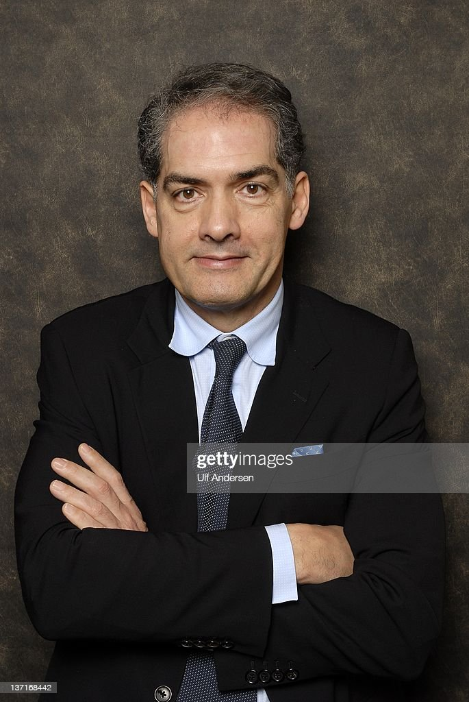 PARIS, FRANCE - JANUARY 11. English writer Philip Kerr poses during portrait session held on January 11, 2012 in Paris, France.