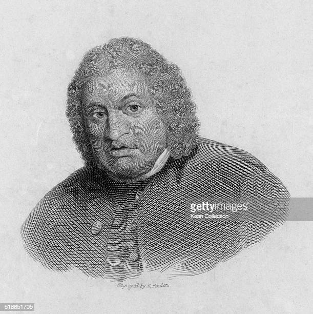 English writer poet essayist moralist and literary critic Samuel Johnson circa 1770 From an original engraving by E Finden