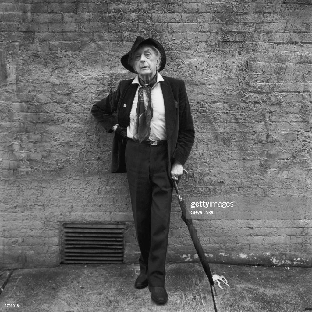 English writer Quentin Crisp (1908 - 1999), author of 'The Naked Civil Servant', in New York City, 1993.
