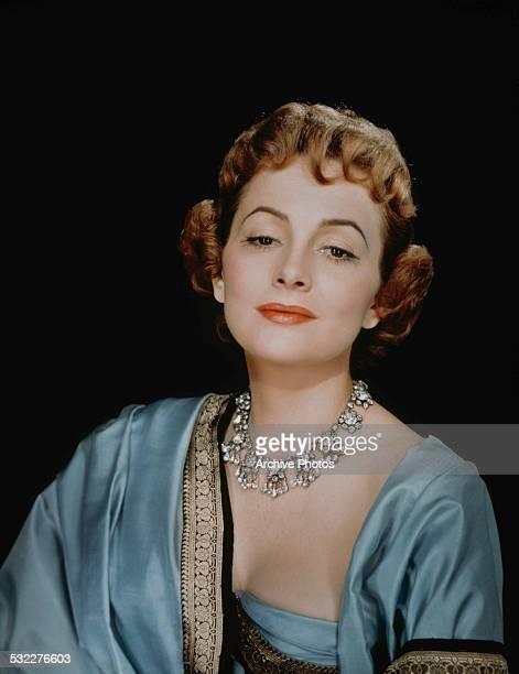 EnglishAmerican actress Olivia de Havilland circa 1955
