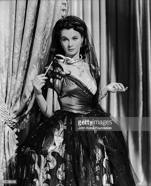 Englishborn actress Vivien Leigh plays Lady Emma Hamilton the infamous lover of Lord Nelson in 'That Hamilton Woman' directed by Alexander Korda