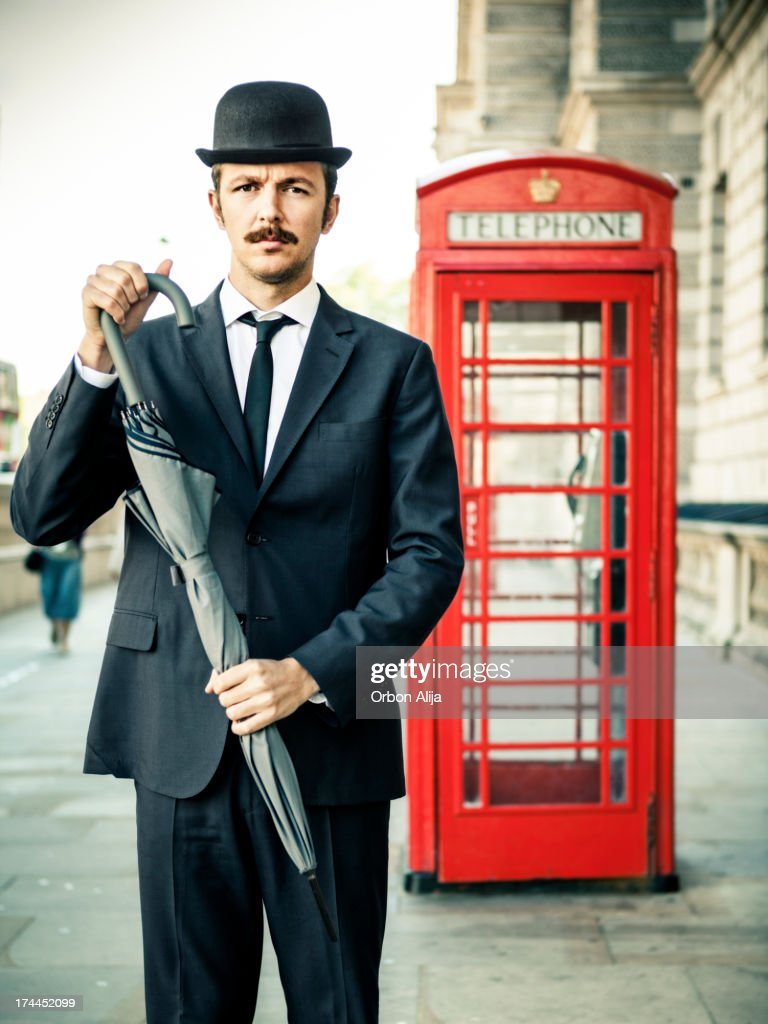 Englishman : Stock Photo