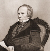 Engraved portrait of American poltician Henry Clay early 19th century