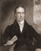 Engraved portrait of American poltician Henry Clay early to mid 19th century
