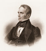 Engraved portrait of American poltician Henry Clay late 18th or early 19th century
