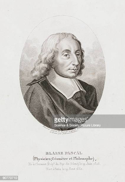 Engraving by Ambroise Tardieu after an original work by Edelinck Blaise Pascal is credited with founding the modern theory of probability He also...