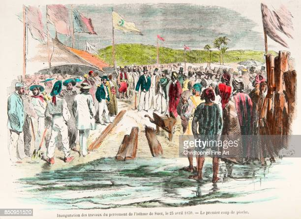 the First Sod Inauguration on April 25th 1859 Private Collection