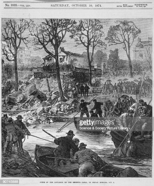 Engraving from the Illustrated London News October 1974 The Regent�s Canal connecting the Paddington Canal and the Thames at Limehouse was opened in...