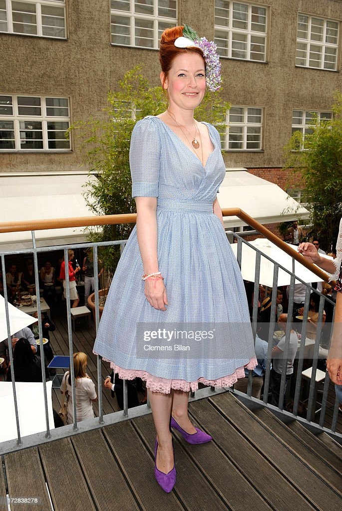 Enie van de Meiklokjes attends the Gala Fashion Brunch at Ellington Hotel on July 5, 2013 in Berlin, Germany.