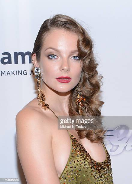 Eniko Mihalik attends the 4th Annual amfAR Inspiration Gala New York at The Plaza Hotel on June 13 2013 in New York City