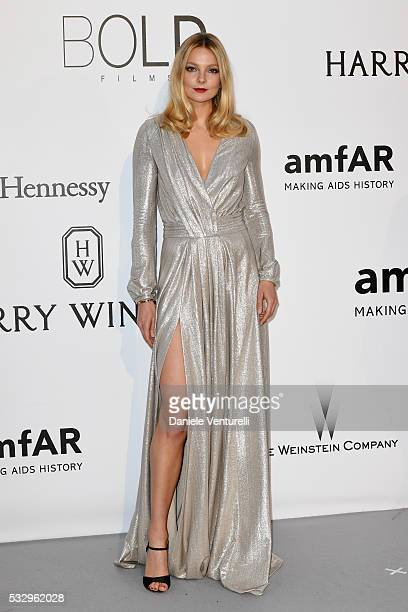 Eniko Mihalik attends the amfAR's 23rd Cinema Against AIDS Gala at Hotel du CapEdenRoc on May 19 2016 in Cap d'Antibes France