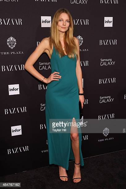Eniko Mihalik attends the Harper's Bazaar ICONS Celebration at The Plaza Hotel on September 5 2014 in New York City