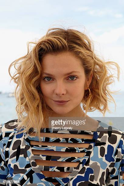 Eniko Mihalik attends The Launch Of The New 'Fendi By Karl Lagerfeld' Book The 68th Annual Cannes Film festival on May 21 2015 in Cannes France