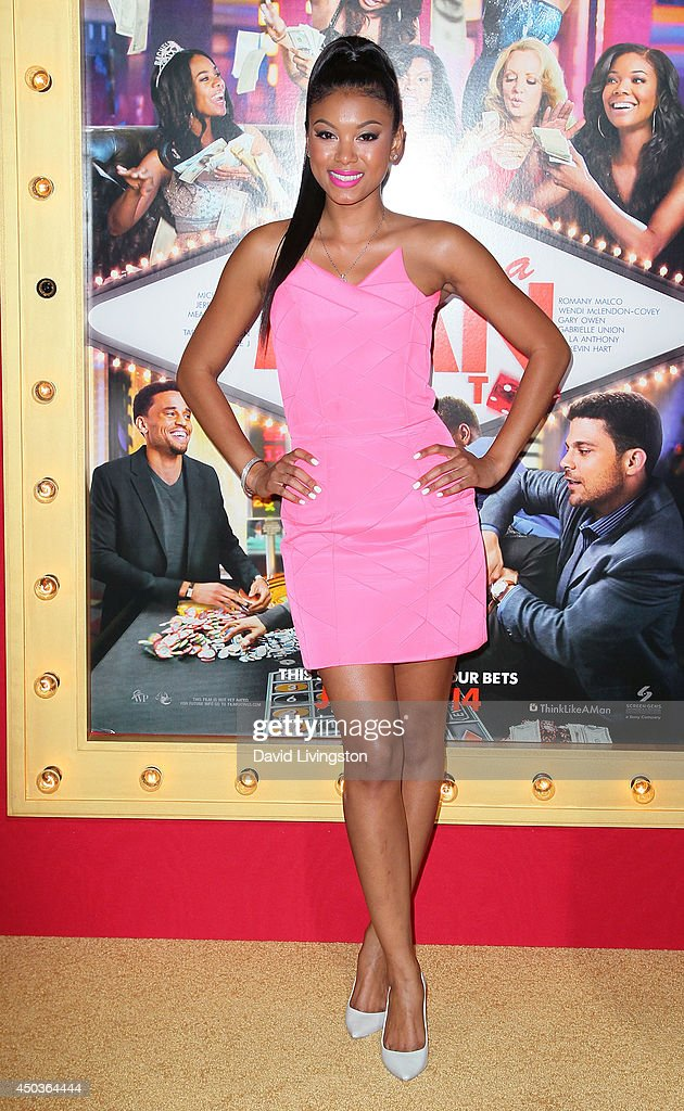 Eniko Parrish attends the premiere of Screen Gems' 'Think Like a Man Too' at the TCL Chinese Theatre on June 9, 2014 in Hollywood, California.