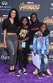 """Premiere Of Disney And Marvel's """"Avengers: Infinity..."""