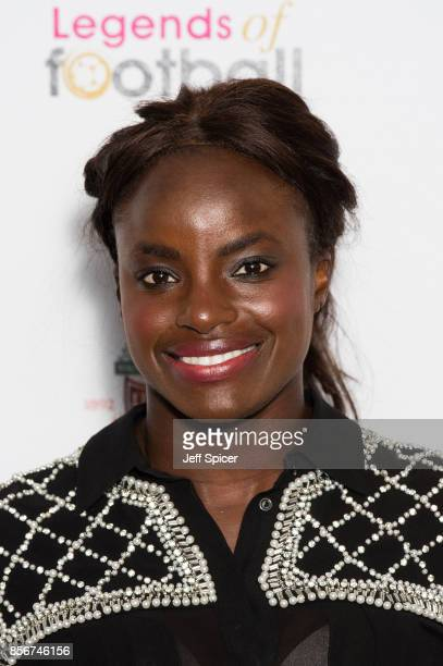 Eniola Aluko attends the Legends of Football fundraiser at The Grosvenor House Hotel on October 2 2017 in London England The annual footballthemed...