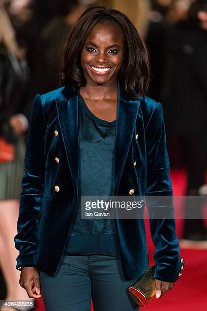 Eniola Aluko attends the World Premiere of 'Ronaldo' at Vue West End on November 9 2015 in London England