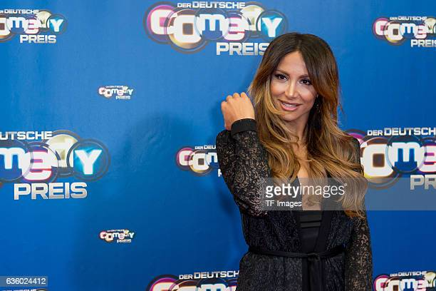 Enissa Amani attends the 20th Annual German Comedy Awards at Coloneum on October 25 2016 in Cologne Germany