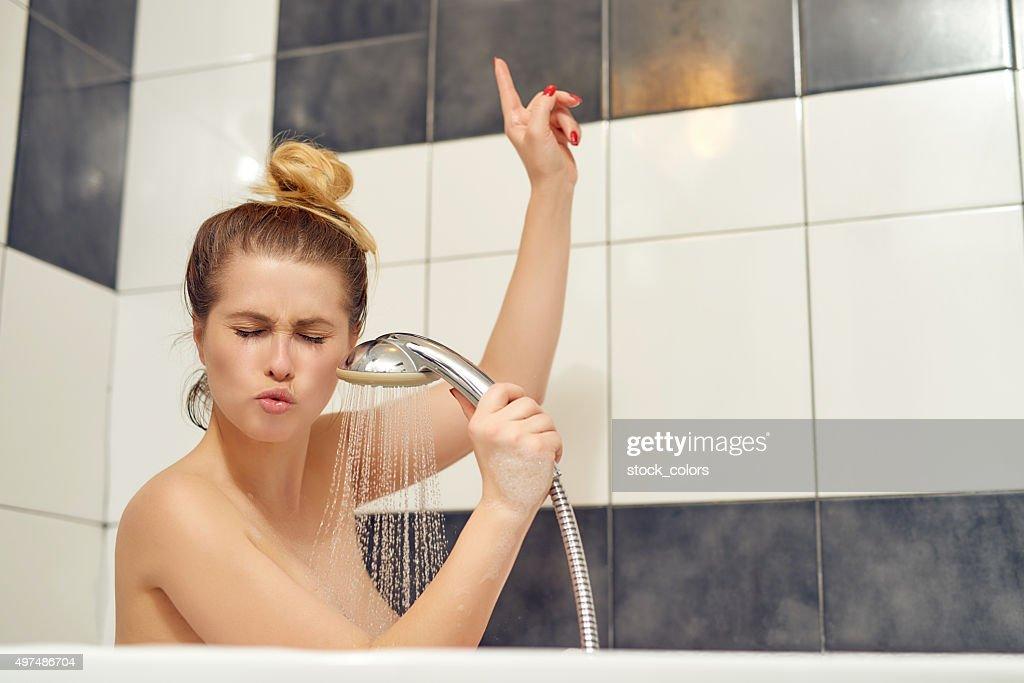 Appréciez une drôle de bains : Photo